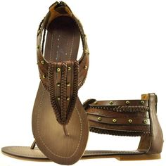 Wild Pair Lizzie Wp Flat Sandal ($30) ❤ liked on Polyvore featuring shoes, sandals, flats, sapatos, flat sandals, toe thongs, embellished flat sandals, wild pair shoes and studded flat shoes
