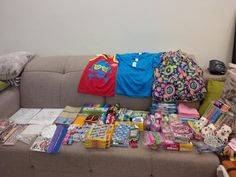 2014 Boxes : So here is what i packet for boys and girls age between 5 and 8