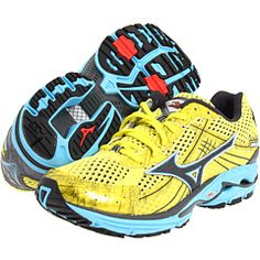 Mizuno Wave Rider 15. Want.  Immediately.  Tested these out the other day, so much lighter than my Asics!
