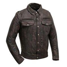 Vintage SUZUKI V FOUR 4 Motorcycle Biker Jacket Vest LAPEL PIN
