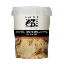 Burnt Fig, Honeycomb and Caramel Ice Cream