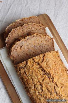 Sütőtök kenyér Vegetarian Recipes, Healthy Recipes, Healthy Treats, Healthy Food, Kenya, Banana Bread, Gluten Free, Vegan, Healthy Foods