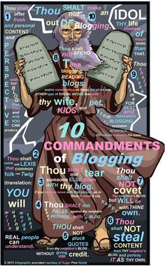 The 10 Commandments of Blogging in the Philippines  Blogging Community Social Media