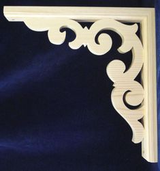 L&G's Gingerbread Fretwork. L&G's Gingerbread Fretwork Pine Trim Bracket. - L&G's Victorian Gingerbread Fretwork is Easy to Install with Predrilled Mounting Holes. Porch Trim, Wood Crafts, Diy And Crafts, Pine Trim, Porch Brackets, Modern Porch, Victorian Porch, Scroll Saw Patterns, Architectural Salvage