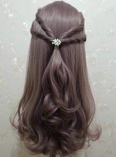 Wedding Hairstyles Inspiration Up Dos 70 Ideas For 2019 Party Hairstyles, Hairstyles Haircuts, Braided Hairstyles, Wedding Hairstyles, Cool Hairstyles, Bridesmaids Hairstyles, Woman Hairstyles, Creative Hairstyles, Medium Hair Styles