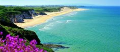 Portrush Whiterocks Beach, Northern Ireland