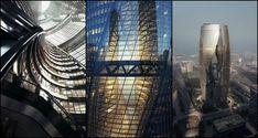 Zaha Hadid's Leeza Soho tower features the world's largest atrium