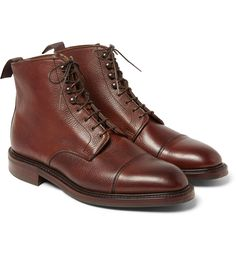 Kingsman - + George Cleverley Scotch-Grain Leather Boots