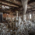 Abandoned pottery