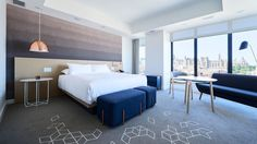 Surprisingly, Byward Market is the first foray into the Great White North for the Andaz brand, and these refined, casual digs prove the old adage correct; Custom Carpet, Custom Rugs, Hospitality Design, Guest Room, Master Bedroom, Contemporary, Living Room, Interior, Furniture