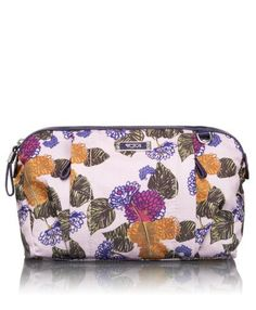 Tumi Luggage Voyaguer Enna Travel Pouch, Anna Sui Floral, One Size TUMI. $115.00. Made in China. 100% Nylon. Inside zip pocket. Elastic bottle loops. Top zip closure. Front zip pockets