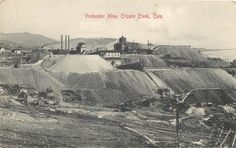 Early 1900s POSTCARD Cripple Creek Colorado Vindicator Mine MINT CONDITION