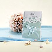 Emboss Wedding Invitation With Hollow-out Flo... – USD $ 89.99
