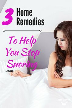 Remedies For Sleep 3 Home Remedies To Help You Stop Snoring -Wile occasional snores are usual, sounding like a tractor sure gets on everyone's nerves via /DIYActiveHQ/ What Causes Sleep Apnea, Cure For Sleep Apnea, Sleep Apnea Remedies, Insomnia Remedies, Diabetes, Anti Aging, Circadian Rhythm Sleep Disorder, Home Remedies For Snoring, Fungi