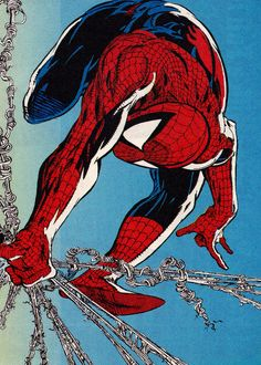 Spider-Man by Todd McFarlane ✤ || CHARACTER DESIGN REFERENCES | キャラクターデザイン |  • Find more at https://www.facebook.com/CharacterDesignReferences & http://www.pinterest.com/characterdesigh and learn how to draw: concept art, bandes dessinées, dessin animé, çizgi film #animation #banda #desenhada #toons #manga #BD #historieta #strip #settei #fumetti #anime #cartoni #animati #comics #cartoon from the art of Disney, Pixar, Studio Ghibli and more || ✤