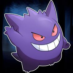 Gengar Icon by ChibiLyra