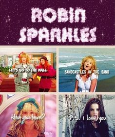 Robin Sparkles https://www.youtube.com/watch?v=9mJAsgIIfNM https://www.youtube.com/watch?v=WSMXYF6Y6U0 https://www.youtube.com/watch?v=_Xvka2APJDs
