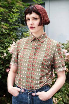 Vintage Forest Green shirt