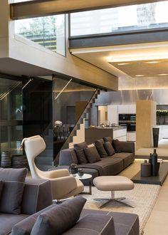 Werner van der Meulen of Nico van der Meulen Architects has recently completed House Sar, located in Johannesburg, South Africa.