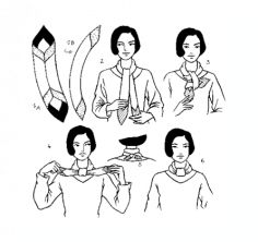 Link to Hermes scarf tying guide/booklet  For Diana :-)
