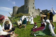 eduardokeny:    Medieval fayre at Carew Castle