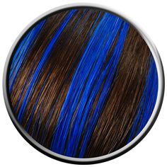 electric blue hair highlights - Google Search