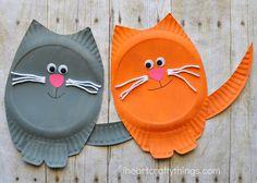 Vilka barn älskar inte roliga och mysiga katter? Rachel, som har pysselbloggen I heart crafty things, berättar hur hon och hennes barn förälskade sig i den grå, knubbiga katten i den populära långf...