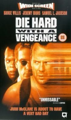 Die Hard with a Vengence (1995). LOVE Jeremy Irons!!!!