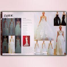 @insideweddings Winter 2013 Issue featuring #FrancescaMiranda #Bridal / Edición Invierno 2013 #Vera #Veranique #Emanuelle #Rubie #Aimeé #Charlize #white #black - @francescaonline- #webstagram