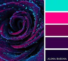 New Paint Palette Tattoo Color Schemes 63 Ideas Color Schemes Colour Palettes, Colour Pallette, Color Palate, Color Combos, Purple Color Schemes, Decoration Palette, Pink Lila, Pink Purple, Design Seeds