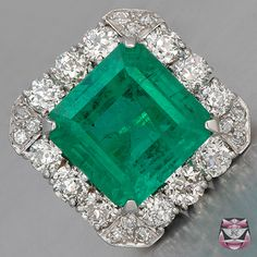 Emeralds are unsurpassed in beauty. Good quality emeralds are 2-3 times more valuable than diamonds.