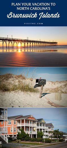 """Find sea turtles, climb lighthouses, visit the """"Seafood Capital of the World"""" and watch the sun rise and set from your beach chair at North Carolina's Brunswick Islands."""