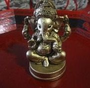 Ganesha statueSmall Lord Ganesh statue  lucky by TriquetraBoutique