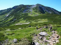 折立から太郎兵衛平の太郎平小屋を経由して北ノ俣岳~黒部五郎岳 北アルプス登山ルートガイド。Japan Alps mountain climbing route guide