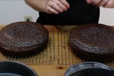 Easy Moist Chocolate Cake : 10 Steps (with Pictures) - Instructables Easy Moist Chocolate Cake, Homemade Chocolate Buttercream Frosting, Chocolate Sponge Cake, Frosting Recipes, Sponge Cake Recipes, Homemade Cake Recipes, Cake Recipes Step By Step, Moist Cakes, How Sweet Eats