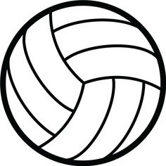 Influential image for volleyball printable