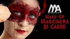 Per questo makeup di macabra eleganza mi sono ispirata all'800 e al carnevale veneziano per dare un tocco steampunk al vostro Halloween! L'acconciatura di Ja...