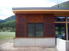 Metal exterior