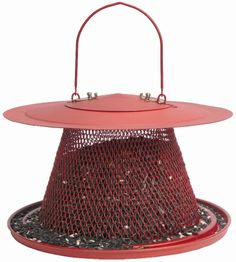 This No/No® cardinal wild bird feeder is provide a large feeding area for a variety of birds. The feeder is easy to fill and clean and is sure to keep birds happy all season long. Bird Seed Feeders, Wild Bird Feeders, Peanuts For Birds, Peanut Bird Feeder, Bird Store, Black Oil Sunflower Seeds, Cardinal Birds, Bird Perch, No Plastic