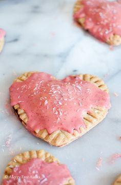 Gluten Free Vegan Strawberry Pop Tarts Recipe from Allergy Free Alaska