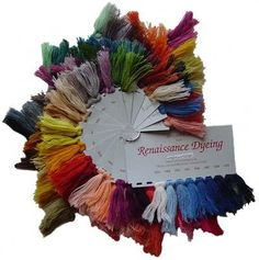 Swatch cards – Renaissance Dyeing [Historic Enterprises carries; what about that vendor out of Easton, PA?]