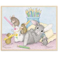 Cast of Characters - HMTR1051 - The Official House-Mouse Designs® Web Site