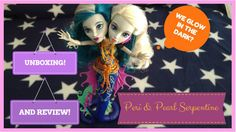 Hello everyone! I uploaded a video to my youtube channel (Sugar Overload) in which I do the unboxing, in-depth review and test of Peri and Pearl Serpentine daughters of the Hydra, of the collection Great Scarrier Reef of Monster High.  If you are interested, come and see it!  (´• ω •`) https://www.youtube.com/watch?v=pWNzdl4dw2Y&t=9s