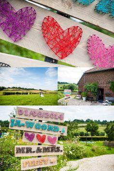 Zo tof, deze kleurrijke bruiloft met spijkerpatronen als thema. De locatie in Zuid-Limburg gaf het gevoel in het buitenland te zijn.  #bruiloft #spijkerpatronen #kleurrijk #colorful #wedding #colors #kleuren #zuidlimburg