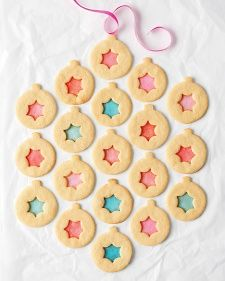 Stained-Glass Sugar Cookies