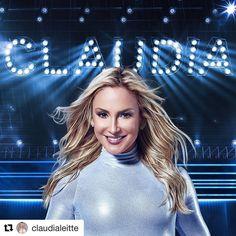 """Genteee? Como assim a @claudialeitte vai cortar o Leitte do nome? Estou 😱! É o fim de uma era!  #Repost @claudialeitte (@get_repost) ・・・ Pessoalll! Eu tô pronta pra subir no salto. E estou tirando o Leitte do meu nome e vou lançar uma nova tour só com Claudia, sem """"Leitte""""! Não é massa? O que vocês acham? #claudia"""