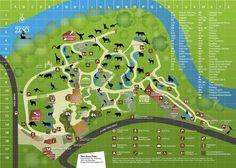 Adelaide Zoo Map