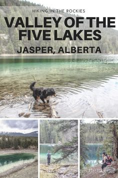 Valley of the Five Lakes, easy day hike in Jasper, Alberta Canada.