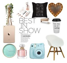 """beauty"" by k-praumova on Polyvore featuring interior, interiors, interior design, home, home decor, interior decorating, U Brands, Guerlain and Fujifilm"