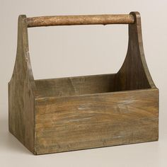 Wood Trug - This would be great to display some of my father's tools.  Love it.